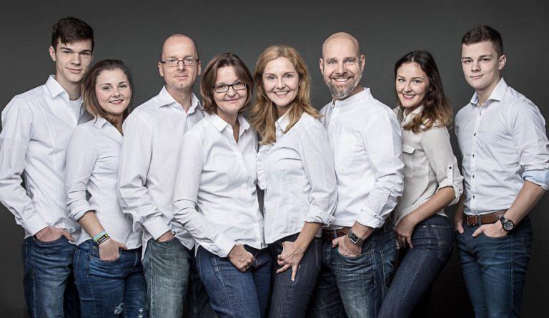 Familien Fotoshooting im Fotostudio in Berlin