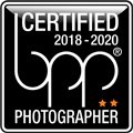 bpp certified Photographer Label